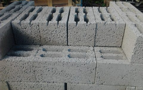 Блоки керамзитобетонные: теплопроводность