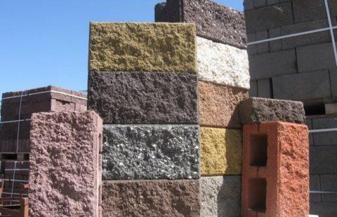 Декоративные керамзитобетонные блоки