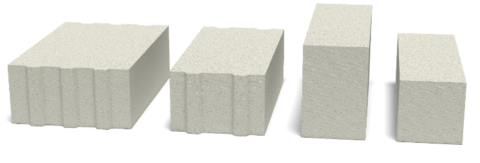 Разновидности газоблока
