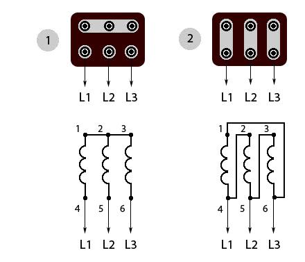 Схемы подключения трехфазного электродвигателя бетономешалки