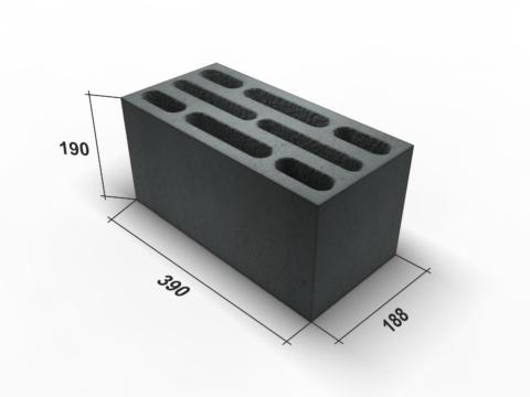 Стандартный размер стенового блока