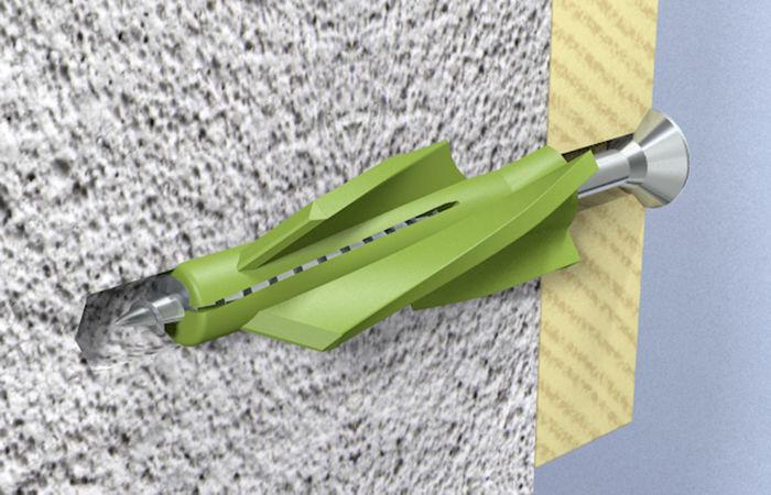 Крепеж, подходящий для газобетона и полистиролбетона