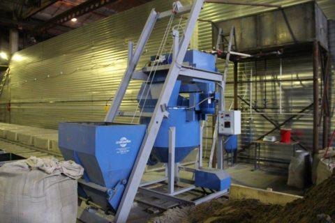 Агрегат для заливки газобетона
