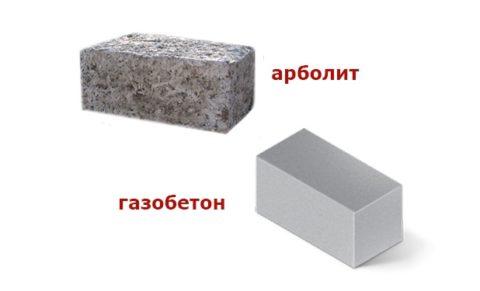Арболит или газобетон?