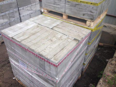 Армированные фиброволокном пенобетонные блоки, фото