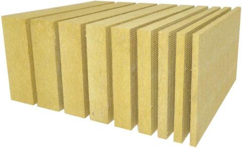 Базальтовые плиты выпускаются различной толщины