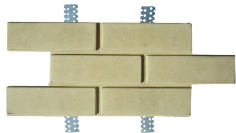 Бетонная плитка под кирпич для вентфасадов