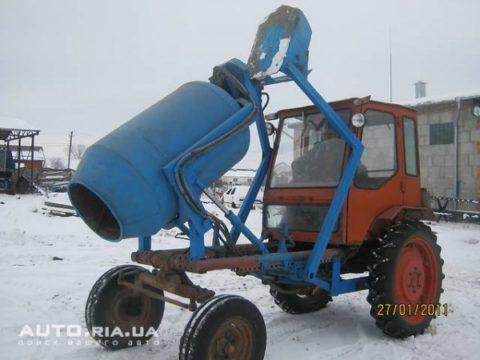 Бетономешалка своими руками на трактор