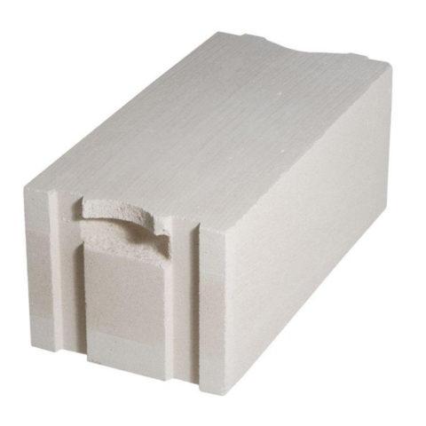 Блок с системой паз/гребеньи ручкой для захвата