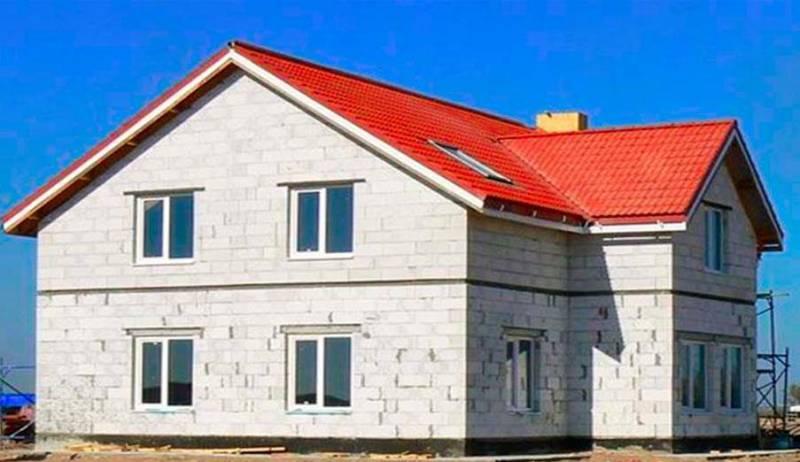 Картинки по запросу газобетонный дом