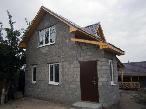 Как построить дом из керамзита своими руками 61