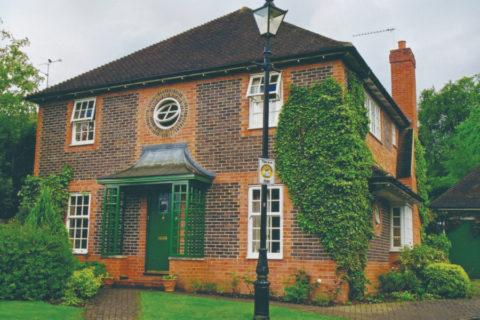 Дом, построенный в английском стиле