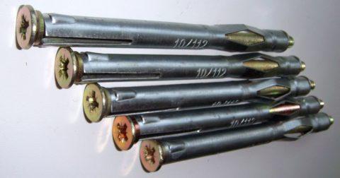 Элементы крепления для газобетона