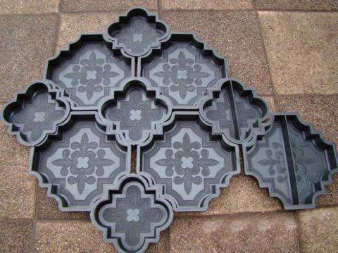 Форма для бетонной плитки