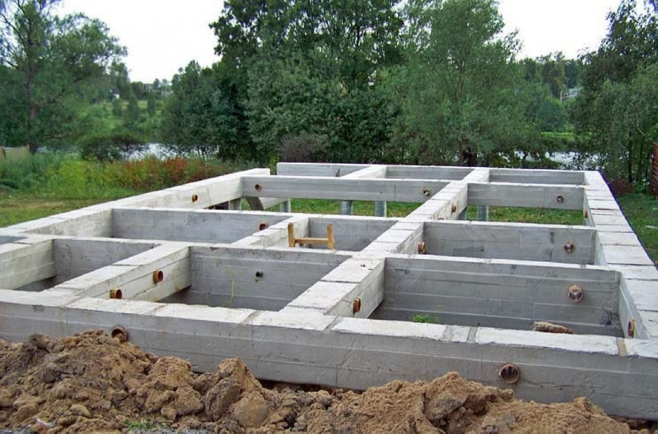 Свайный фундамент цена работы в Подольске