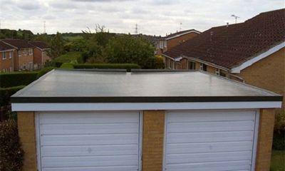 Гаражная крыша бетонная