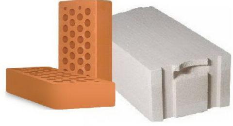 Газобетонные блоки и кирпичи