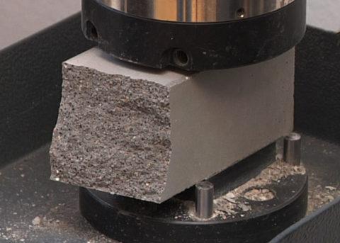 Испытание ячеистого бетона