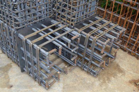Каркас для железобетонной конструкции
