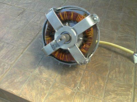 Мотор бетономешалки