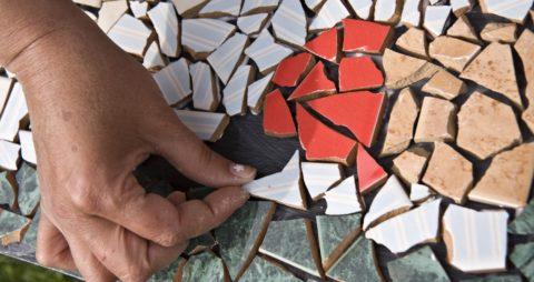 Мозаика из кафеля
