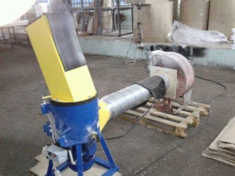 Оборудование для дробления полистирола