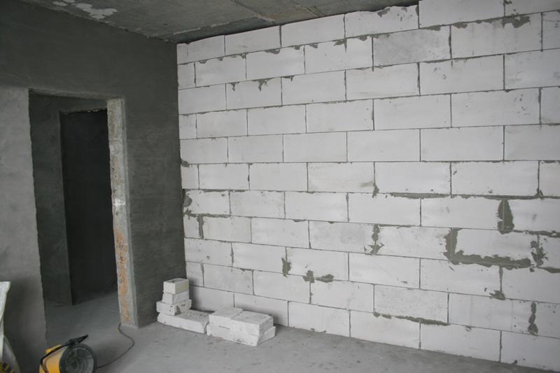 Zidne stene v stanovanjski zgradbi