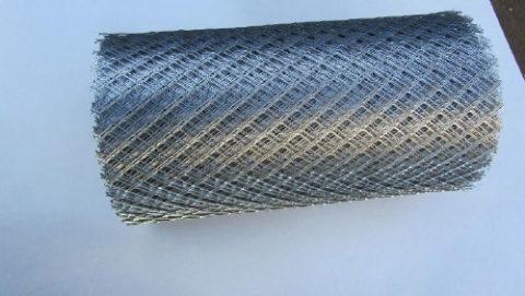 Один из вариантов армирующей сетки оцинкованной