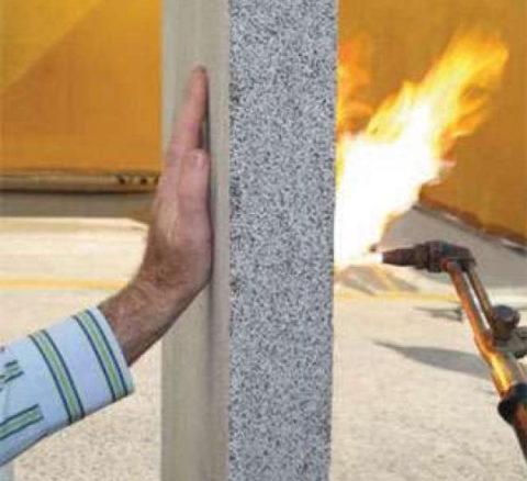 Огнестойкость пенобетона