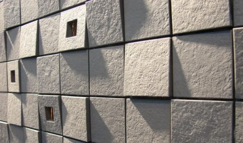 Оригинальное модульное покрытие из бетона