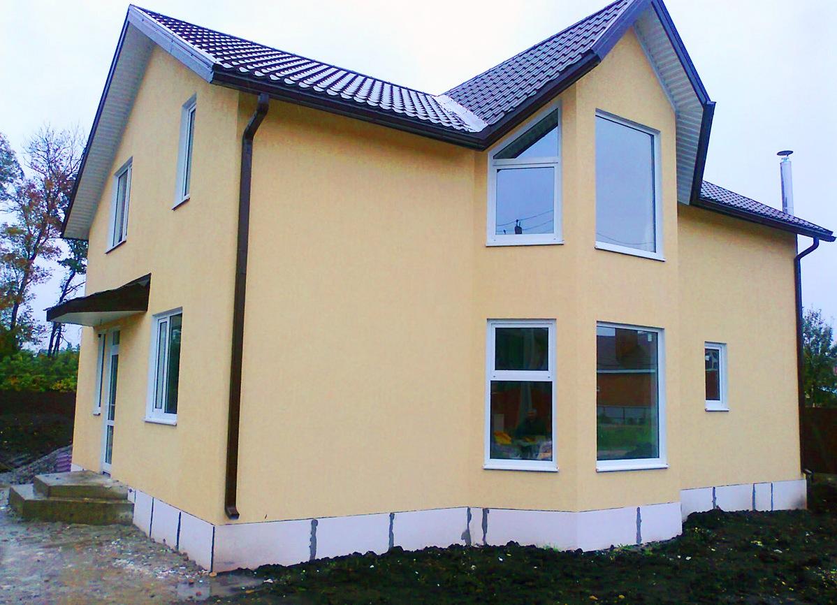 Утепление фасада домов из газобетона