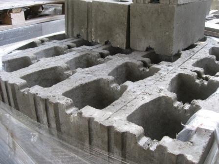 Пазогребневые керамзитобетонные блоки