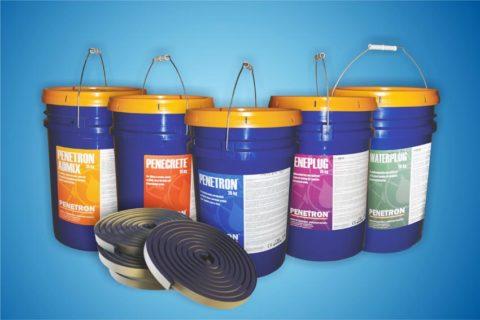 Пенетрон — комплекс гидроизоляционных материалов