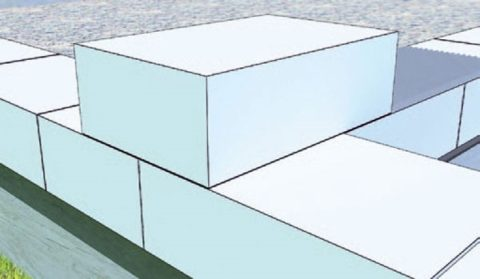Перевязка стен из пеноблока