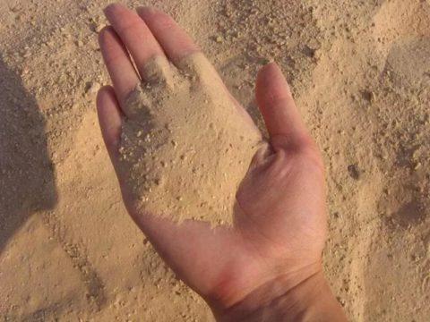 Песок для газоблоков