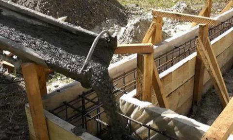 Подача бетонного раствора прямо в опалубку