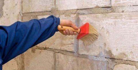 Подготовка поверхности стен к штукатурке