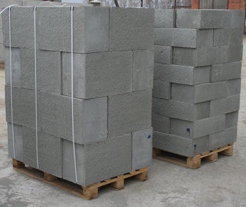Полистиролбетонные блоки стеновые