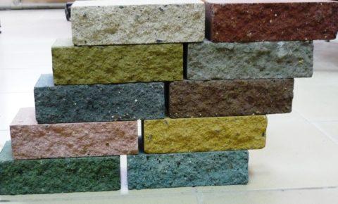 Полнотелые бетонные блоки декоративные