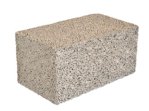 Полнотелый блок из конструкционного бетона