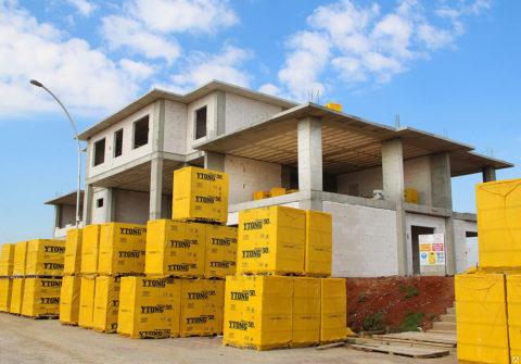 Применения блоков из газобетона «Итонг» в малоэтажном строительстве