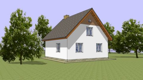 Проект – дачный дом
