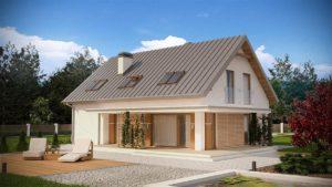 Проект – маленький дом из газоблоков