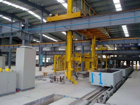Производство автоклавного газобетона, фото