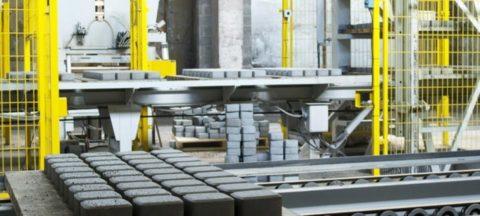 Производство плитки из бетона
