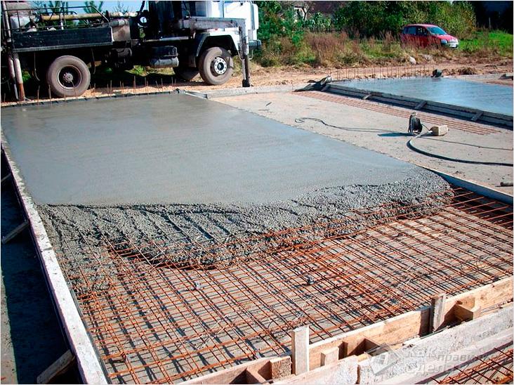 Стоимость квадратного метра монолитной плиты