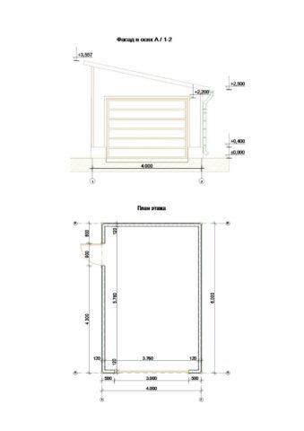 Размеры гаража, обеспечивающие его комфортное использование