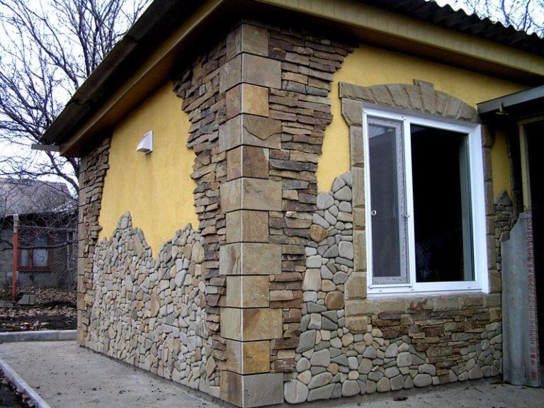 Как и чем отделать фасад дома из газобетона Beton-House