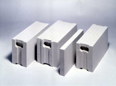 Стеновые пенобетонные блоки