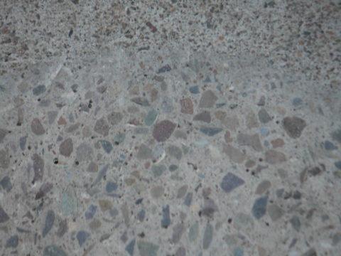 Структура тяжелого бетона испытуемого образца